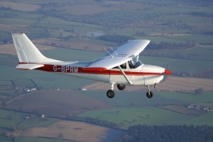 G-BPRM Cessna 172 at Welshpool