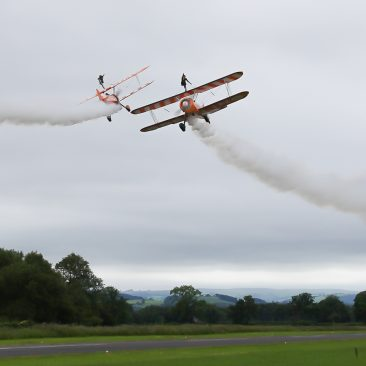 Breitling Wing Walkers, Brian Nicholas